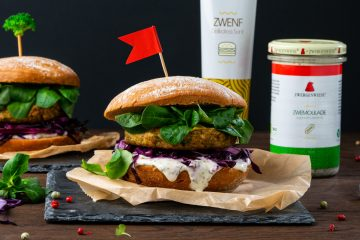 Zwergenwiese Brokkoli-Hanf-Burger