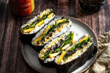 Sushi Sandwich mit Papayango Aufstrich