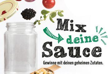 Mix deine Sauce Gewinnspiel